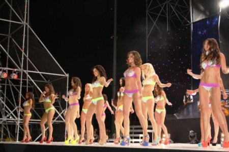Титул «Мисс Донбасс OPEN 2013» завоевала 19-летняя Дарья Триноженко из Харькова. Фото