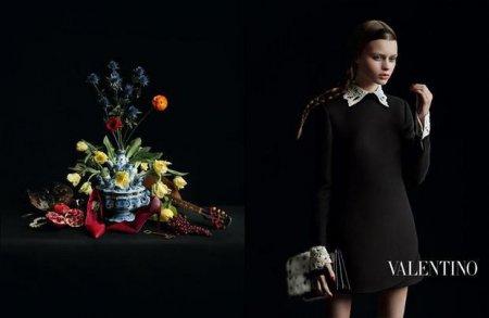 В новой рекламной кампании итальянского Дома моды Valentino снялась украинская модель