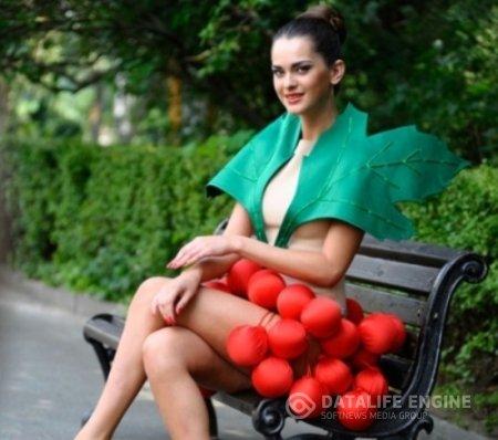 Олеся Стефанко готовится к конкурсу «Мисс Вселенная-2011». Фото