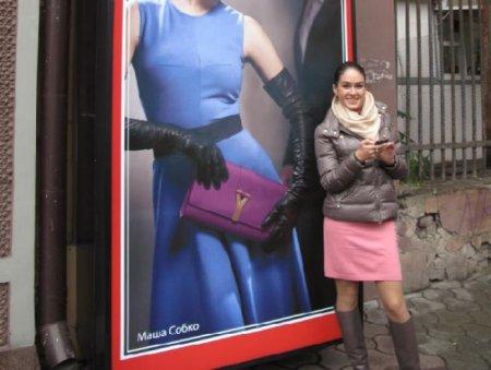 Маша Собко стала лицом модного дома «Crocus»