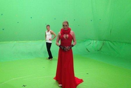 Анастасия Волочкова сняла в Киеве видео на песню «Танго»