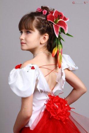 Победительницей конкурса «Mini-model International-2012» стала 8-летняя крымчанка Ира Андриишина