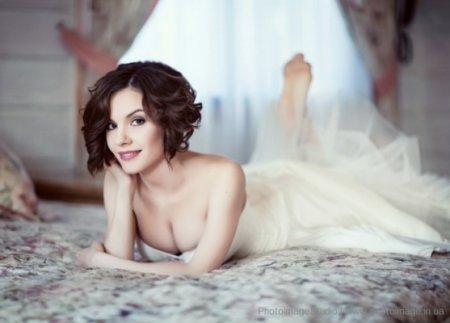 Эрика снялась в свадебной фотосессии. Фото